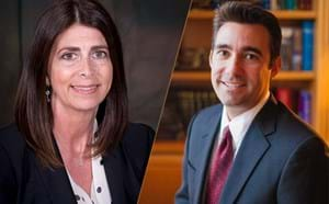 New Assistant Superintendent of Special Education, Valerie Shedd and new Director of Student Services, Matthew Lambert.