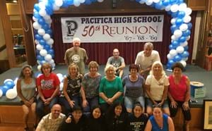 Pacifica alumni reunited for 50th Reunion along with current students.
