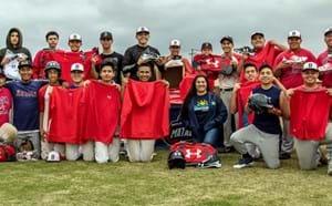 Bolsa Grande baseball team.