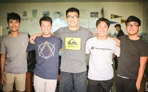 Five La Quinta students.