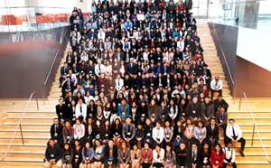 All the participants of Latinos Unidos Conference.