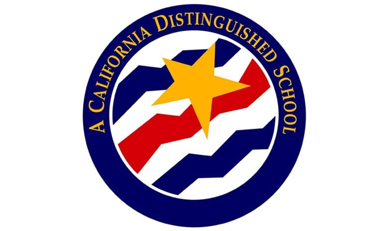 A California Distinguished School seal