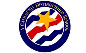 A California Distinguished School seal
