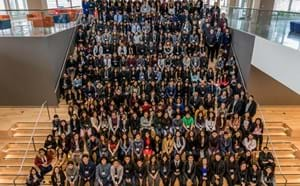 Administration, staff, district leaders, and students from GGUSD's Latinos Unidos clubs gather for a group picture at the 6th Annual Latinos Unidos Conference.