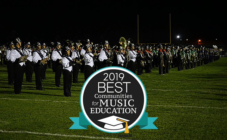 GGUSD wins the 2019 Best Communities for Music Education Award