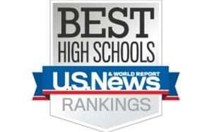 U.S. News Best High Schools Badge