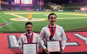 Angels AVID Scholarship Winners