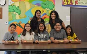 Peters Elementary Students Inspire GGUSD's New Eco-Friendly Lunch Tray and Program to Reduce Food Waste