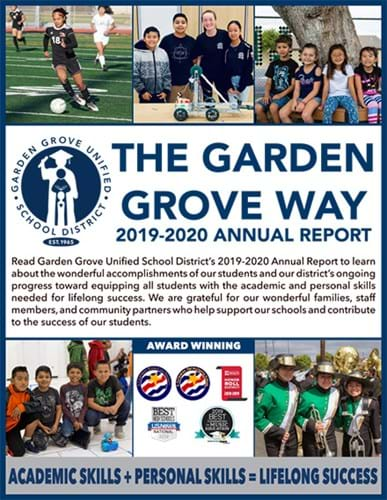 2019-2020 Annual report photo cover