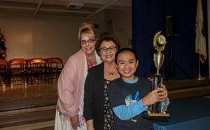 Spelling Bee Champion Brandon Tran