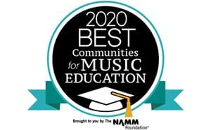 NAMM Music Award Logo