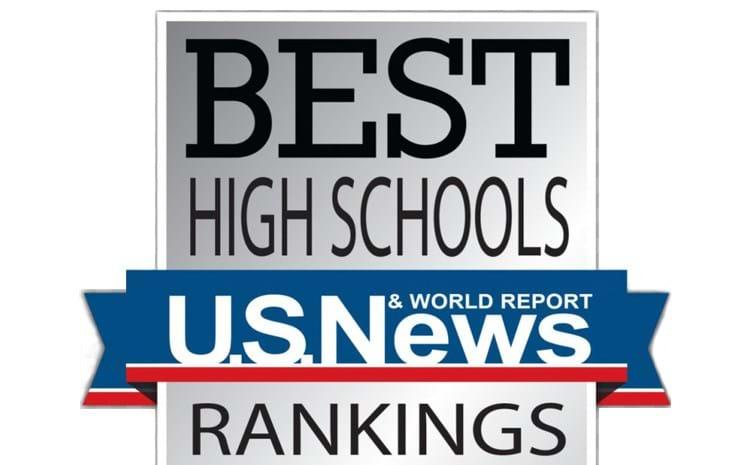 u.s. news best high school badge
