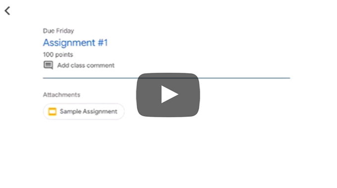 Submit Assignments video thumbnail